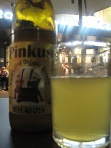 Pinkus Hefe-Weizen World's First Organic Beer