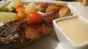 Pièce de bœuf sauce Sainte-Maure